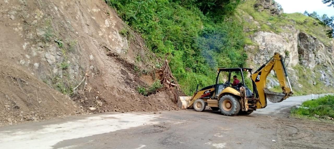 Refuerza la SIOP la capacidad hidráulica de los sistemas de drenaje de las carreteras estatales para prevenir futuros socavones