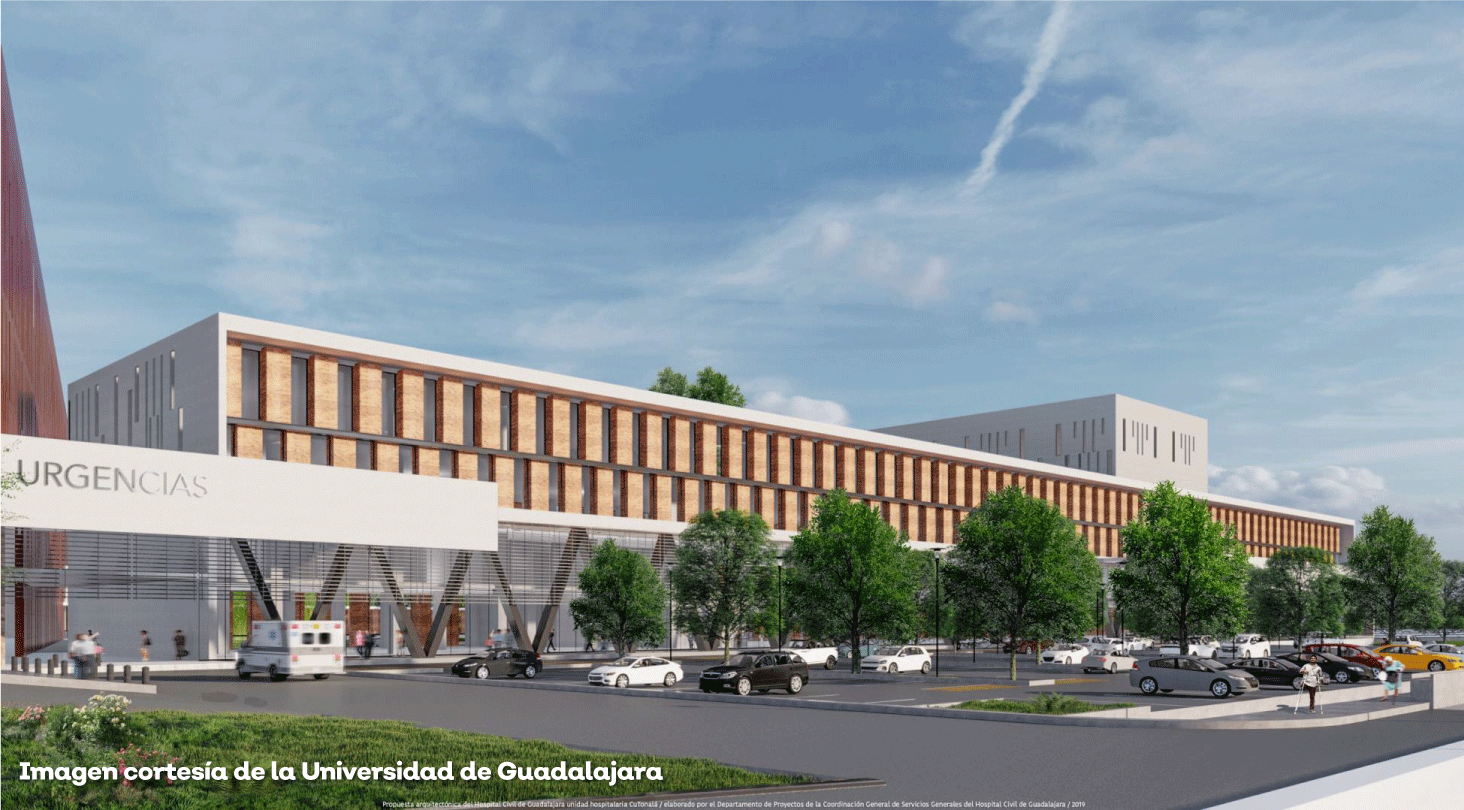 La primera etapa del nuevo Hospital Civil de Oriente en Tonalá, lista el primer trimestre de 2022