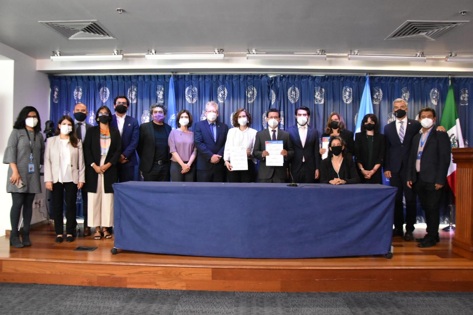 Firma SISEMH Pacto de colaboración con el gobierno de Oaxaca a favor de los derechos humanos de las jornaleras agrícolas migrantes