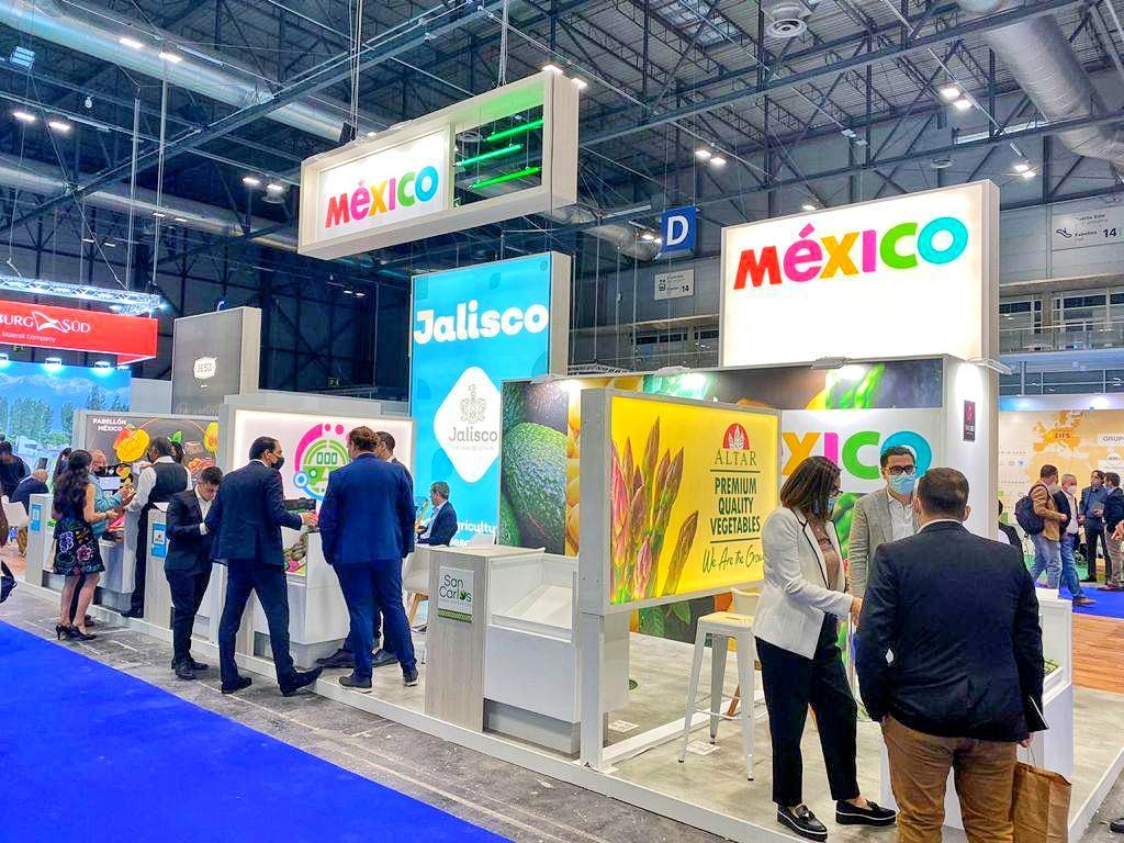 Jalisco participa en la expo Fruit Attraction 2021 en España