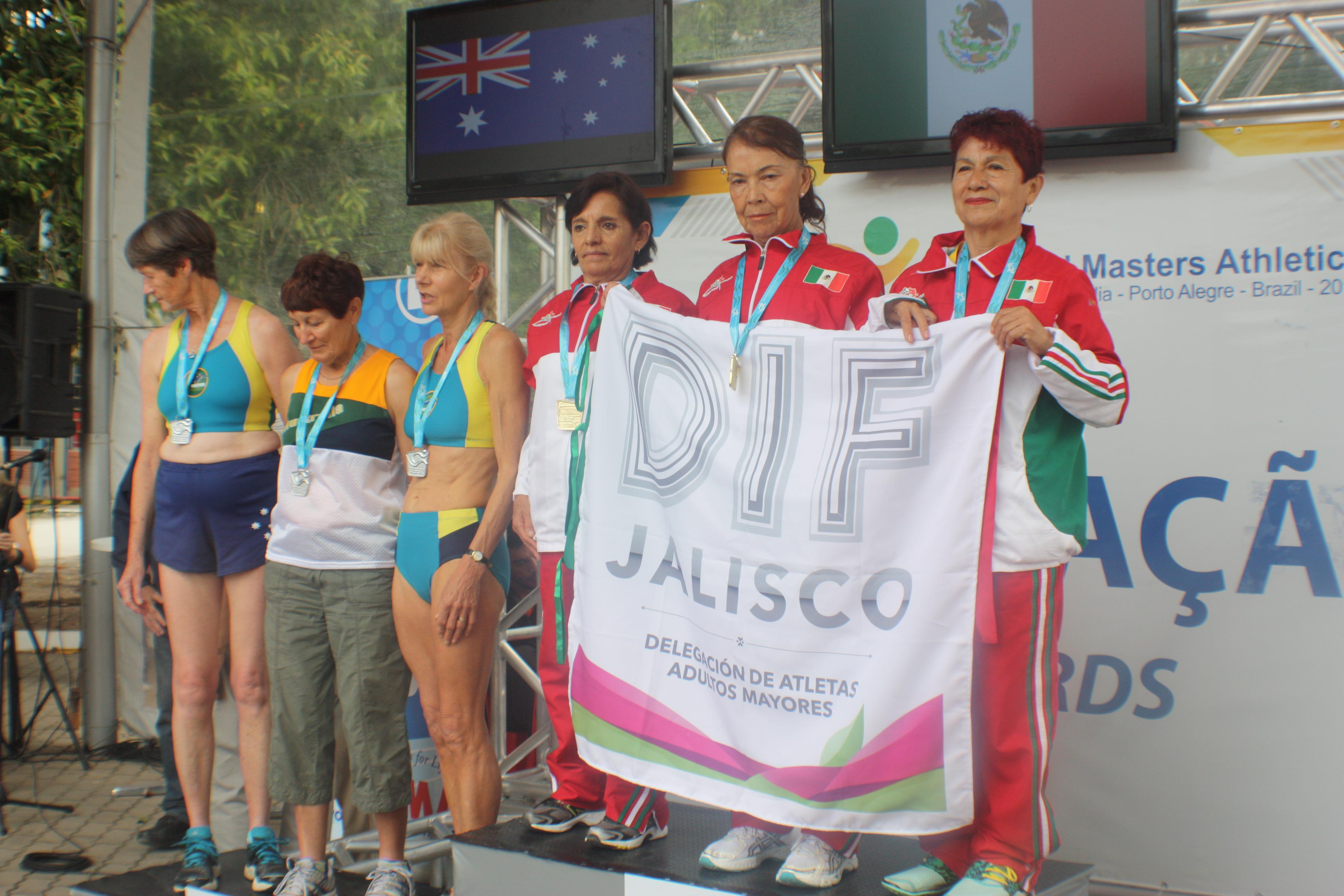 Oro para Jalisco y México en Mundial de Atletismo