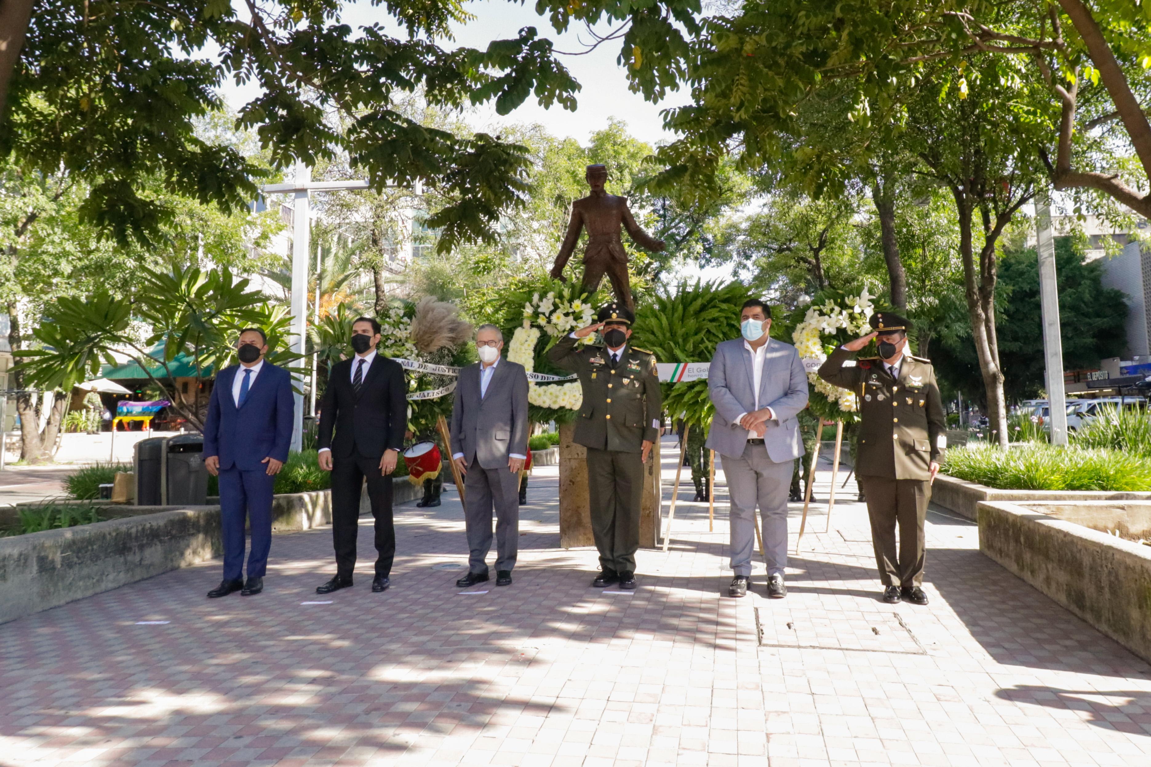 Encabeza Secretario General de Gobierno ceremonia conmemorativa por gesta heroica de los Niños Héroes de Chapultepec
