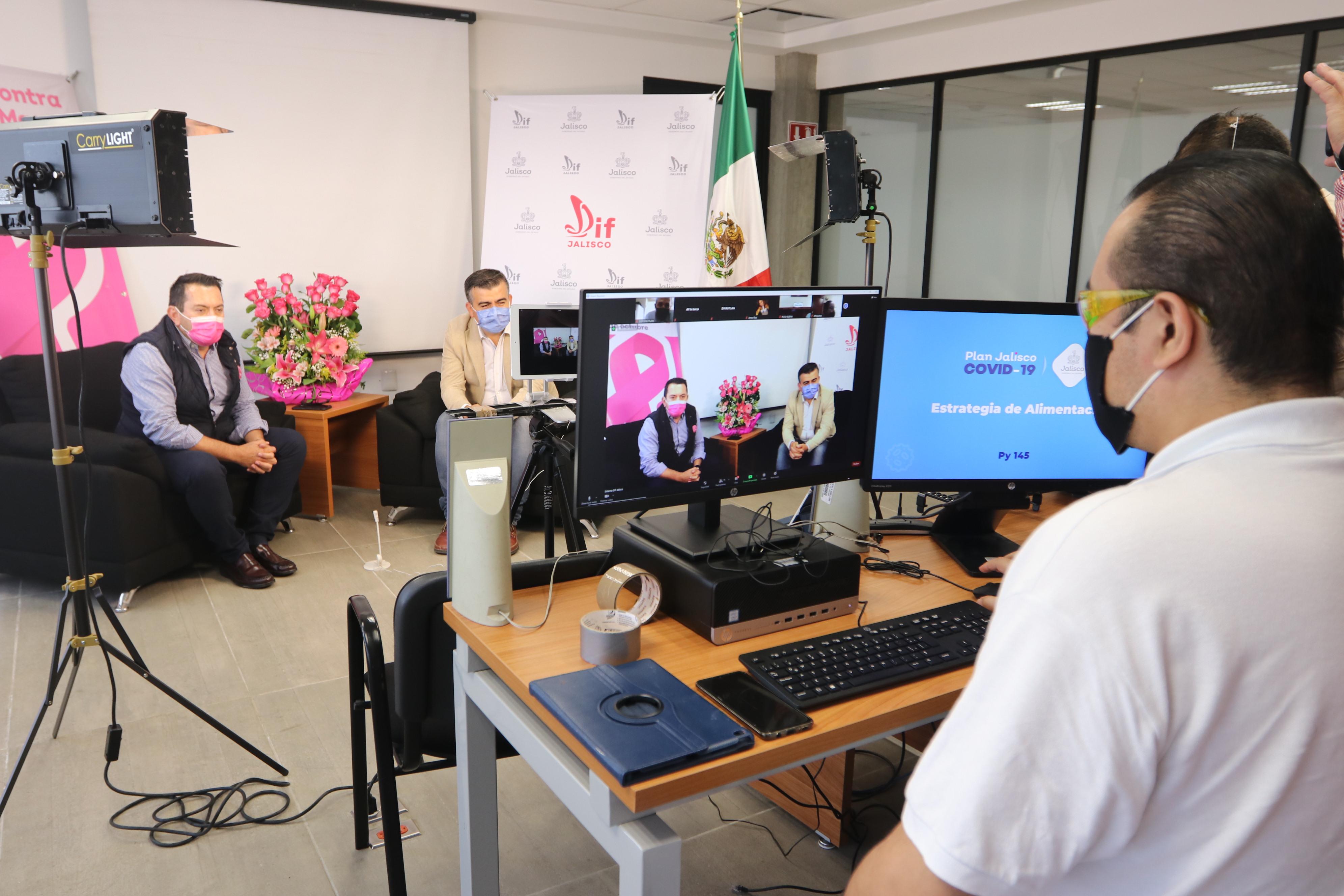 Capacita DIF Jalisco a municipios para inclusión al proyecto 145