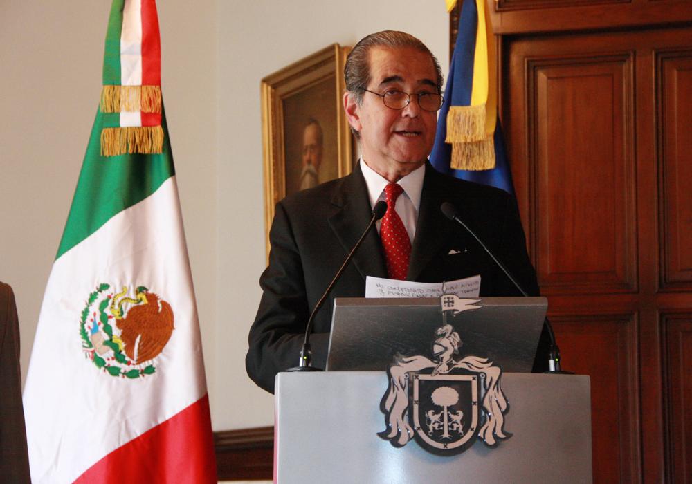 Toma protesta Aristóteles Sandoval a Enrique Ramos Flores como Secretario de Turismo