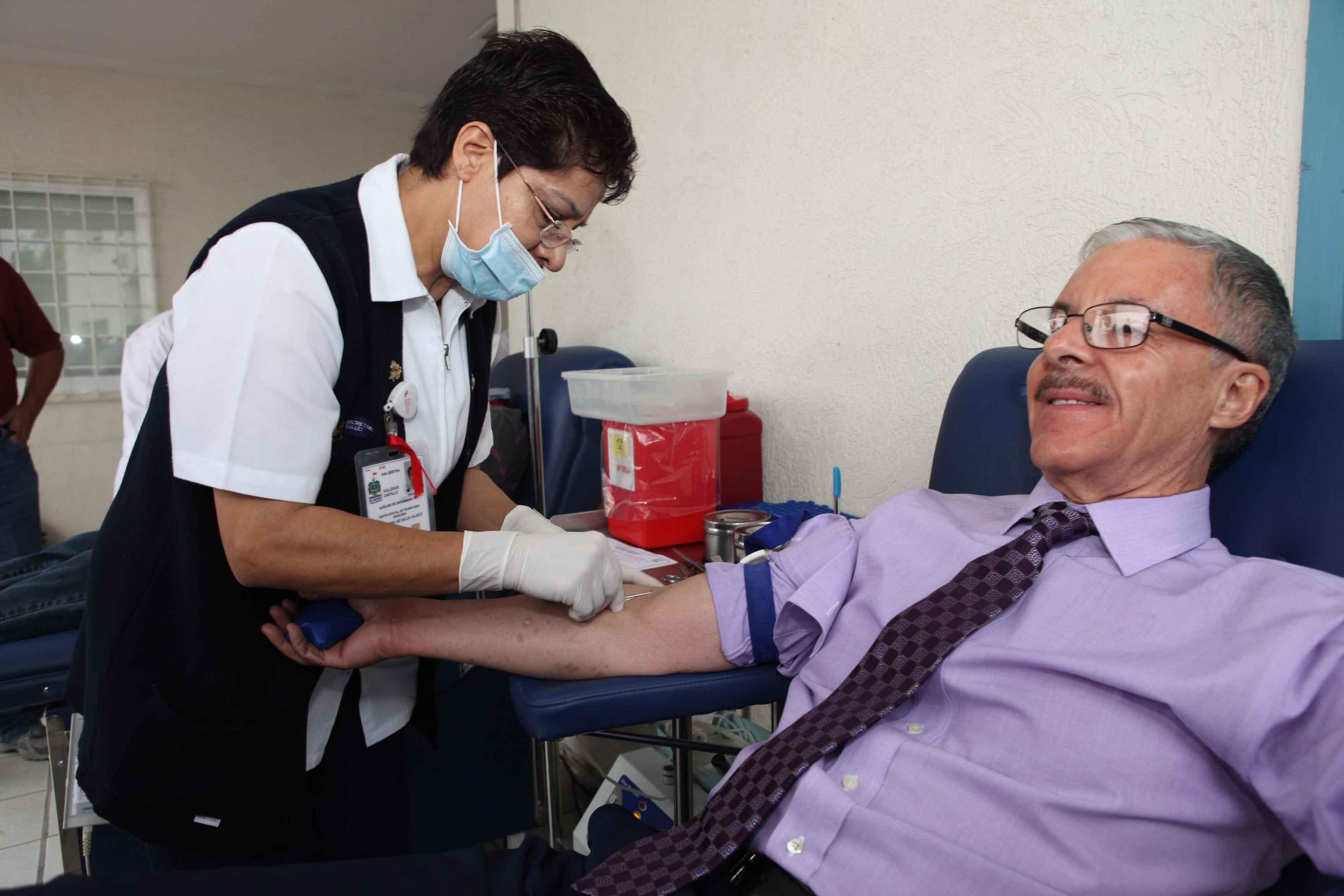 Recuerda la SSJ que donar sangre salva vidas