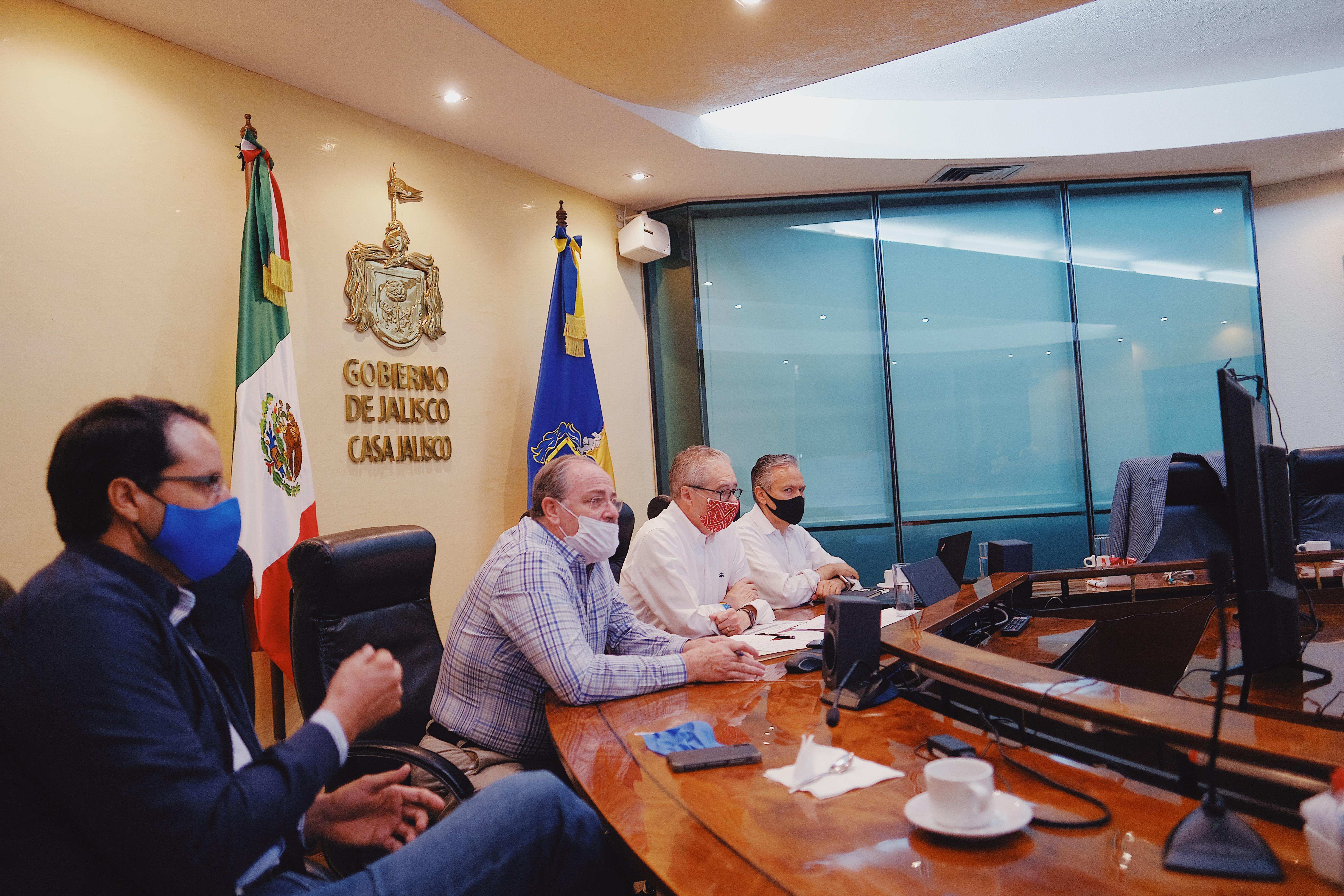 Gobierno de Jalisco presenta fase 0 del Plan de Reactivación Económica a Presidentes municipales