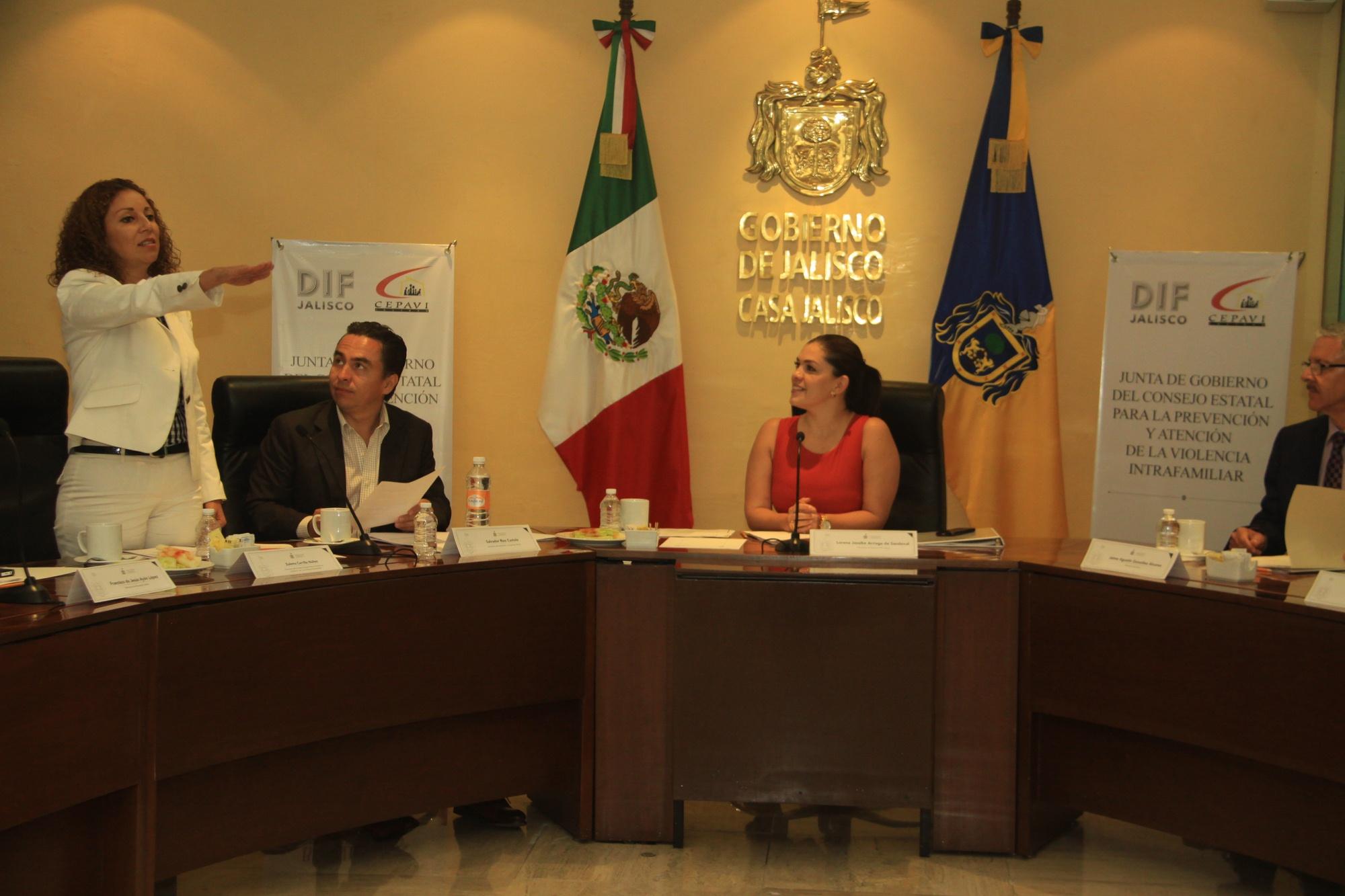 Se instala Junta de Gobierno del Consejo Estatal para la Prevención y Atención de la Violencia Intrafamiliar