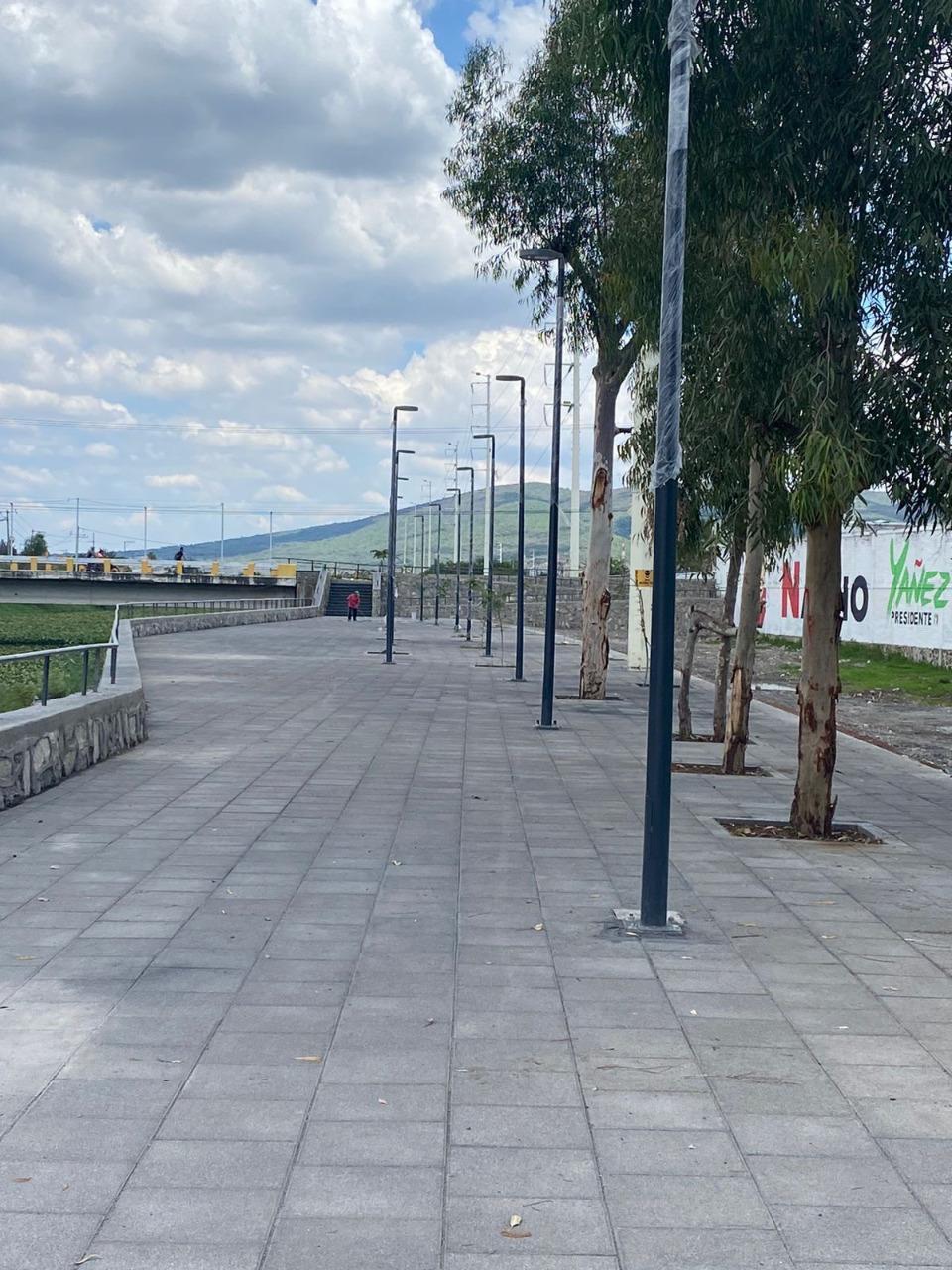 El fragmento de muro desprendido en el malecón de Ocotlán será reparado de inmediato; los cargos correrán a cargo de contratistas