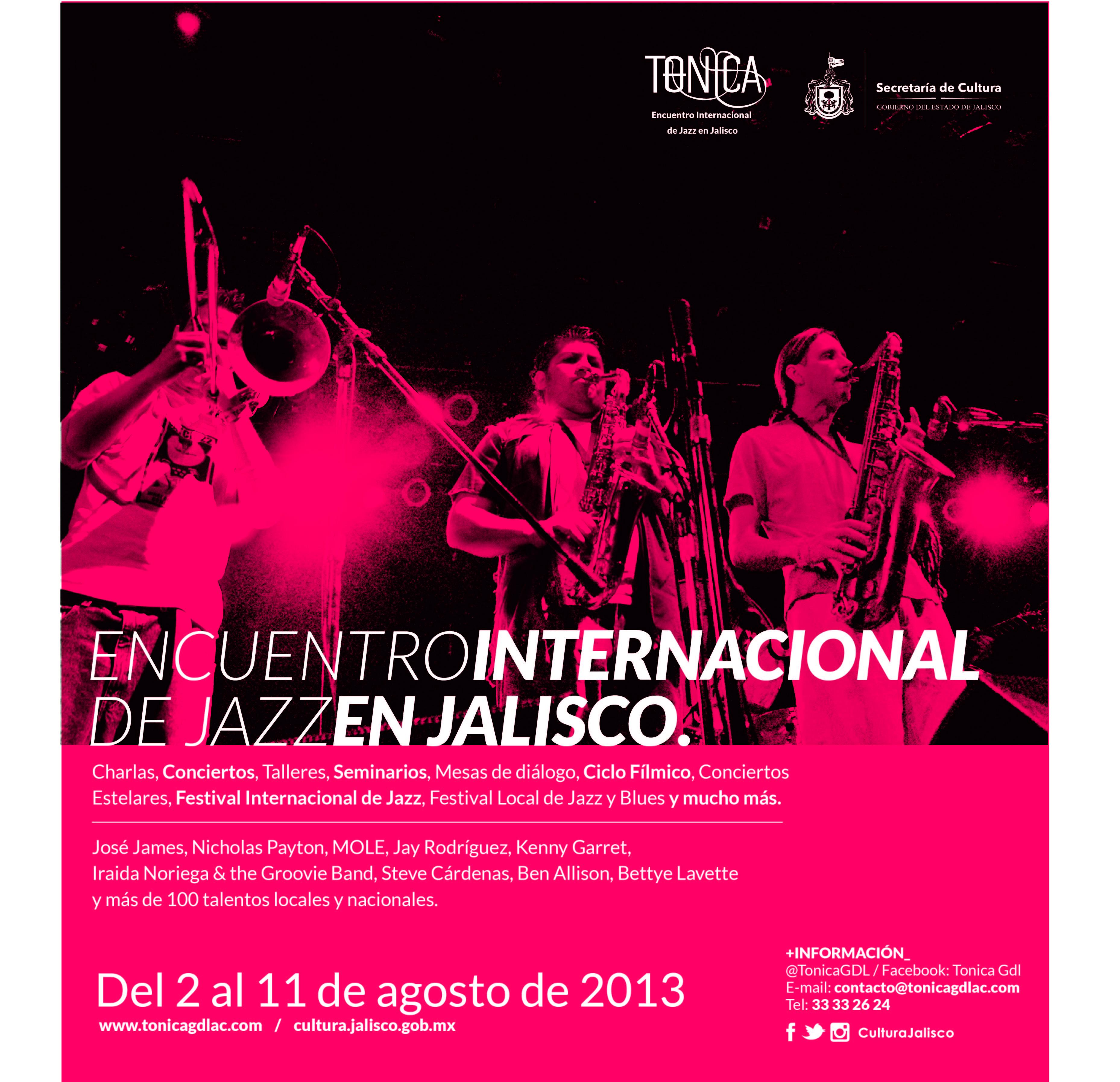 Encuentro Internacional de Jazz en Jalisco