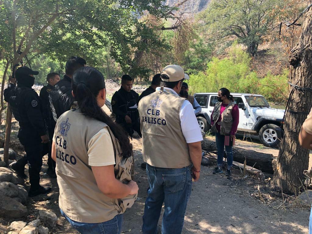 Realizan acciones de búsqueda en San Cristóbal de la Barranca