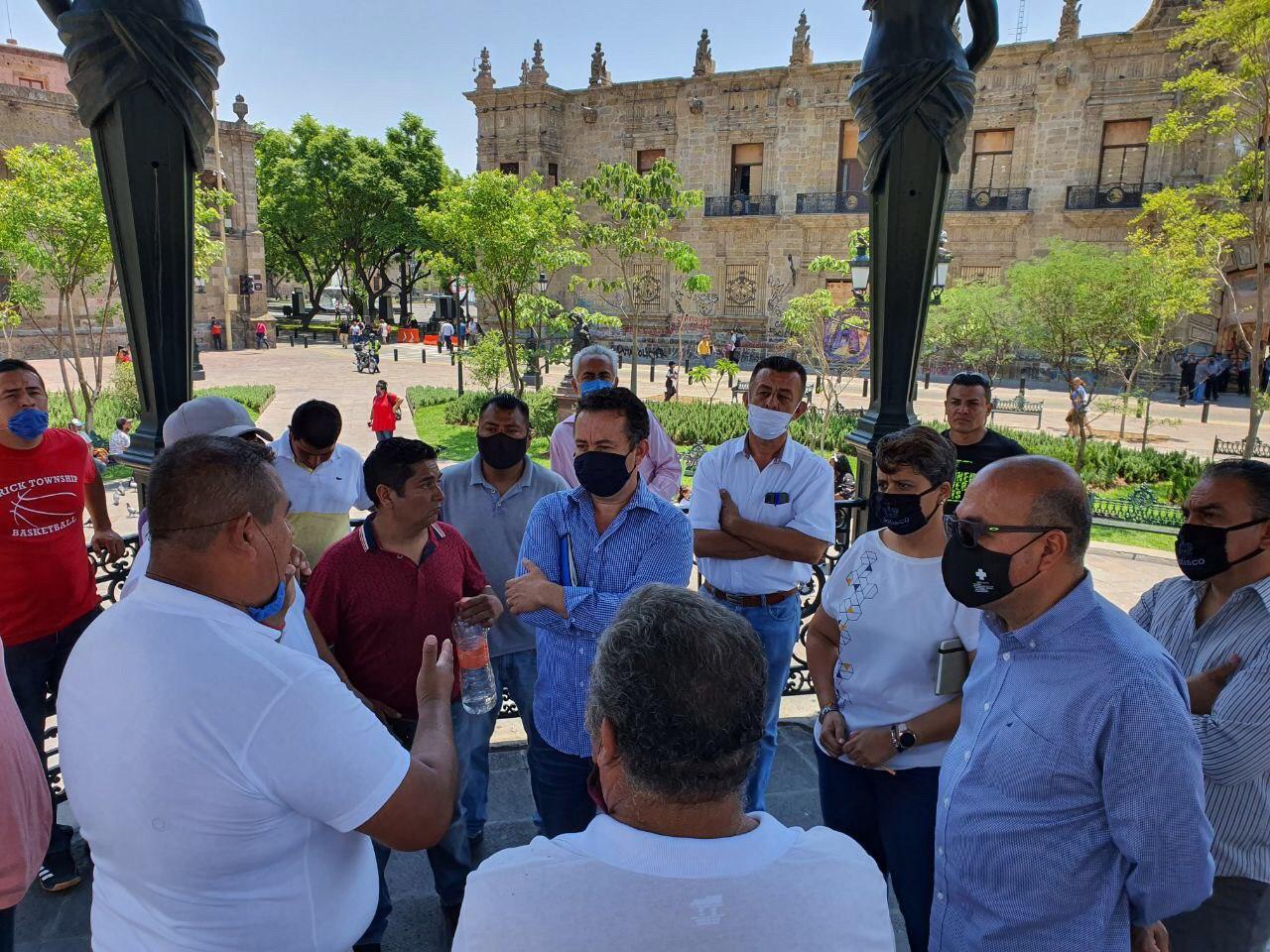 Gobierno del Estado instala mesa de diálogo con Ferieros de Jalisco