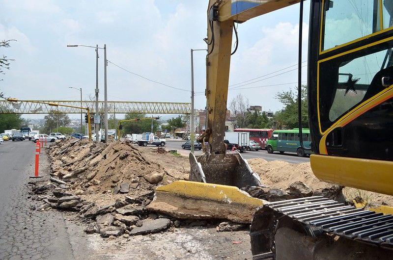 El lunes se abren a la circulación carriles centrales de Periférico entre Juan Gil Preciado y Santa Esther