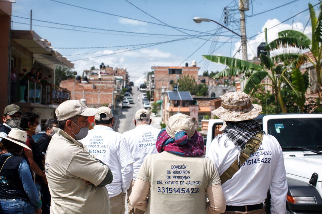 Continúan acciones de búsqueda de jóvenes desaparecidos en Teocaltiche