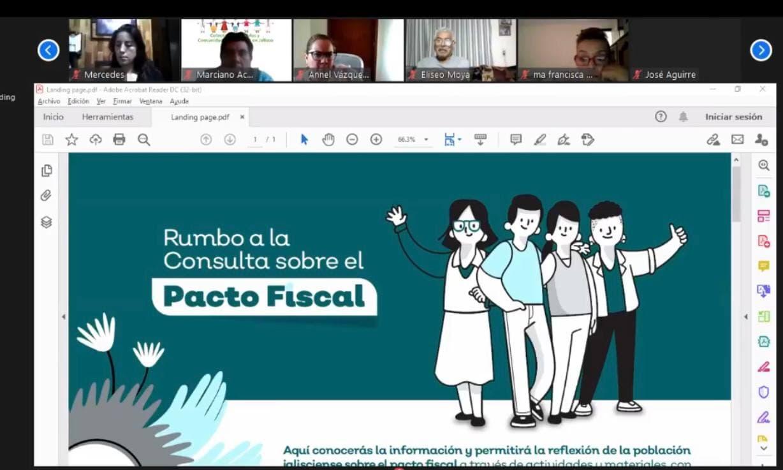 Aprueba Consejo de Participación Ciudadana texto de la pregunta que se realizaría en la Consulta Popular sobre el Pacto Fiscal