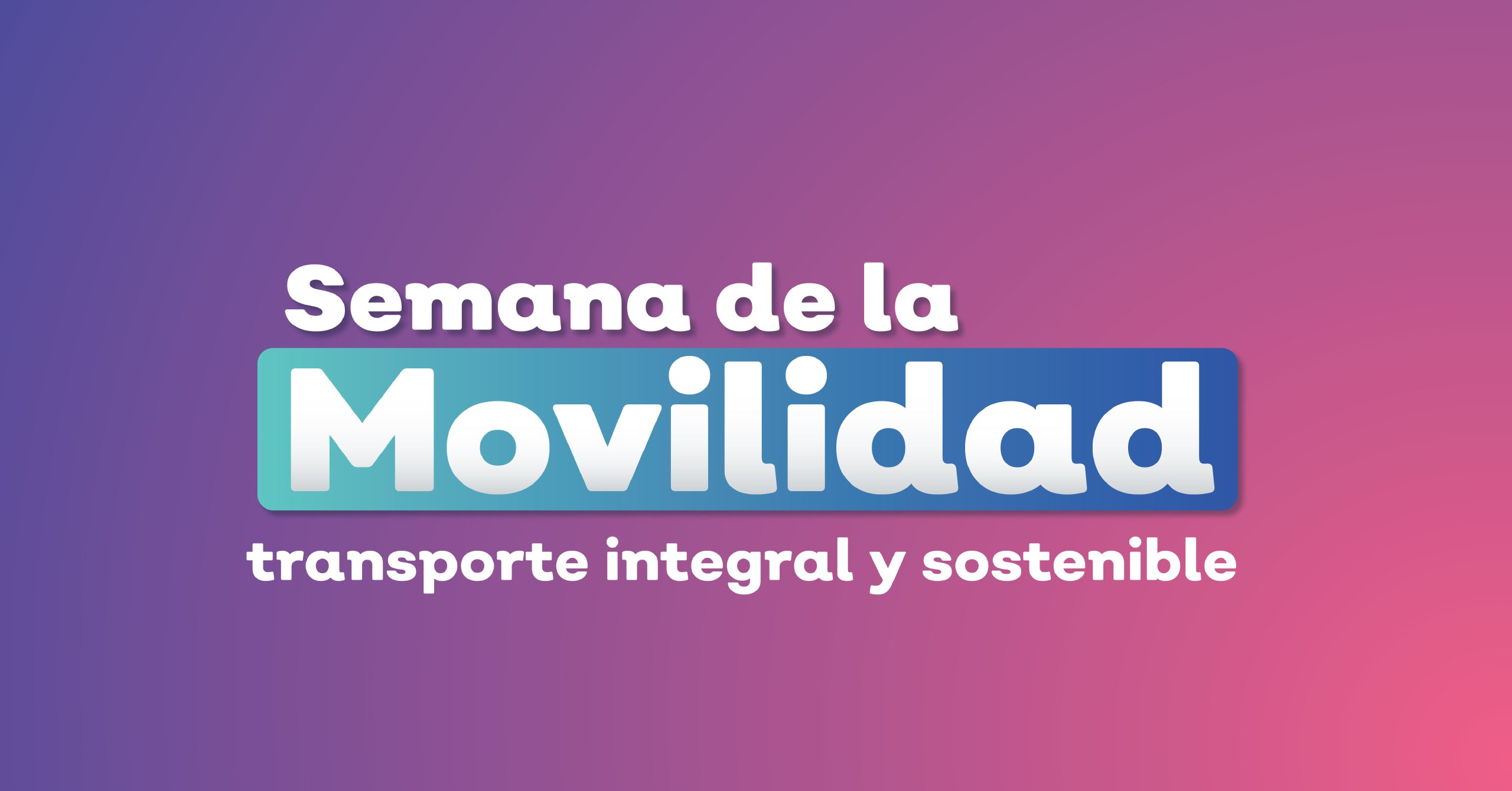 Invitan a dejar el auto en la Semana de la Movilidad