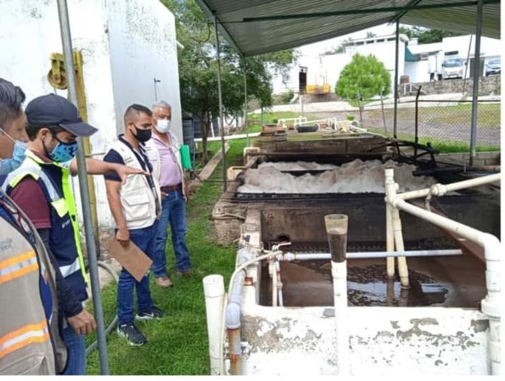 Proepa y autoridades municipales de Tonalá inspeccionan un rastro porcícola