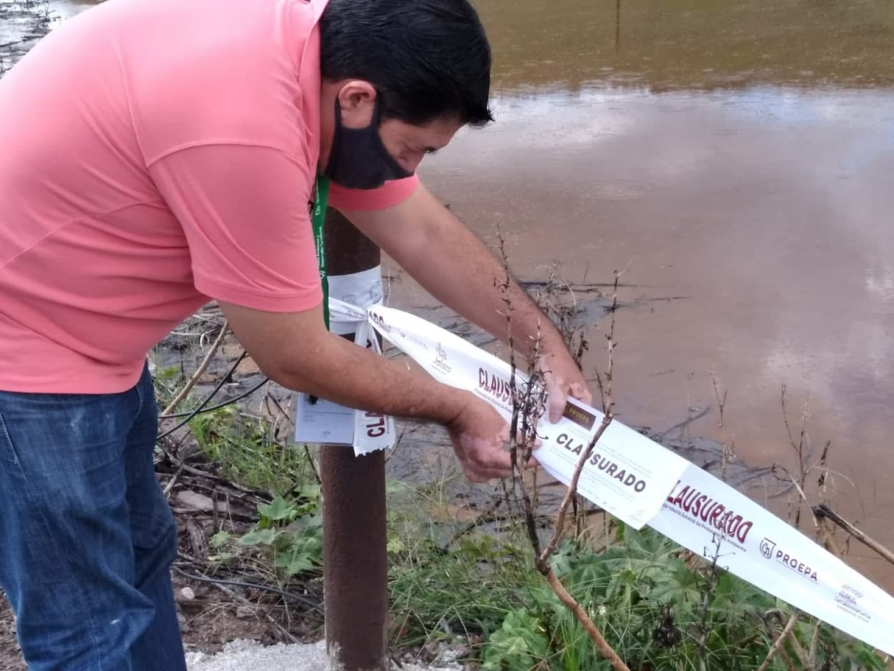 Clausura Proepa a empresa tratadora de aguas residuales en Ayotlán, por incumplir con condicionantes en materia de impacto ambiental