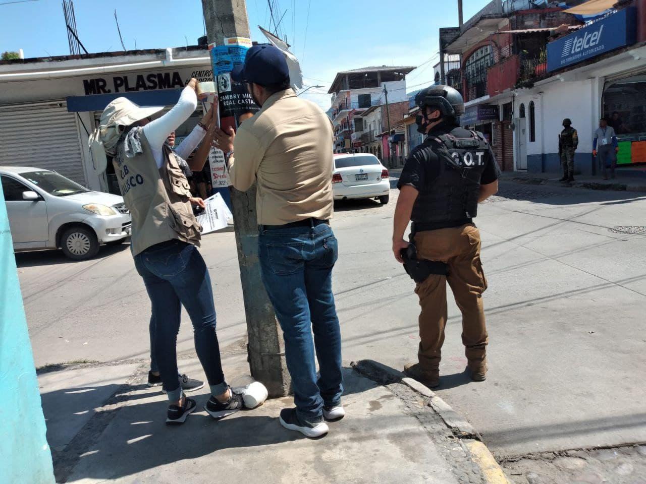 Realizan acciones de búsqueda generalizada en Puerto Vallarta