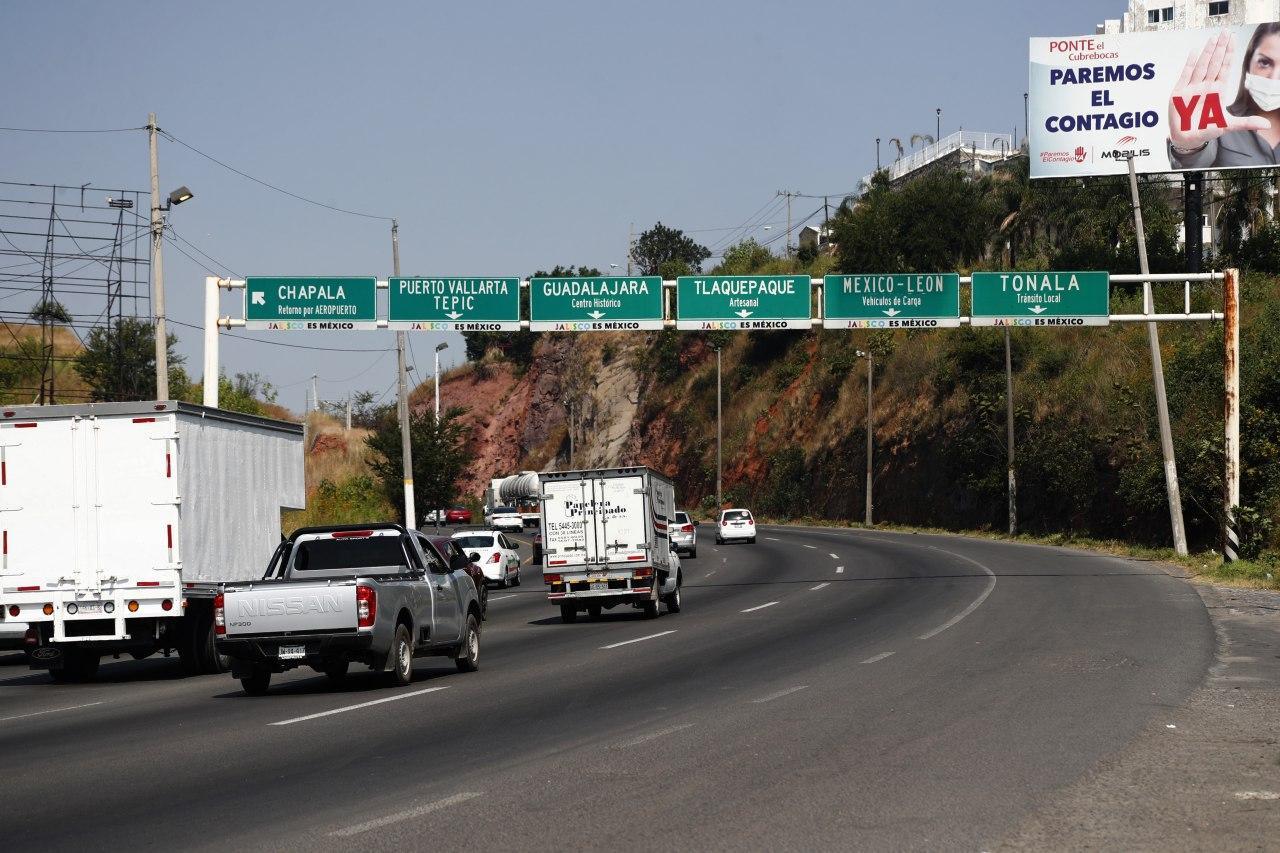 La SIOP reordenará la señalética desde la Glorieta del Álamo hasta Periférico, en la Carretera a Chapala
