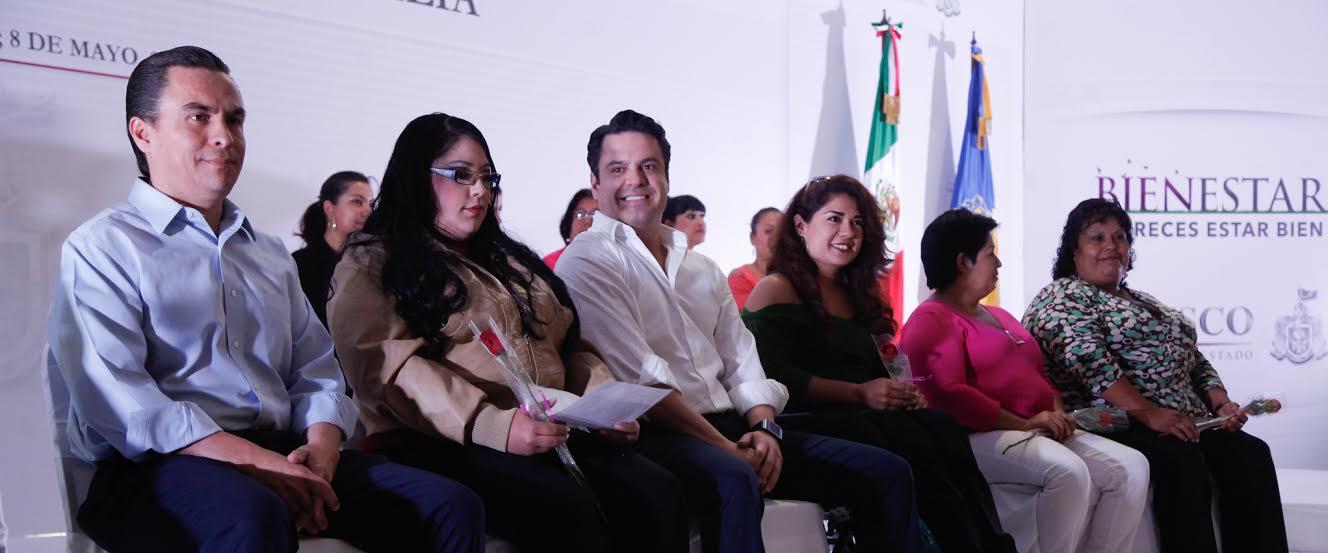 En el evento también estuvo presente el Secretario de Desarrollo e Integración Social, Salvador Rizo Castelo.