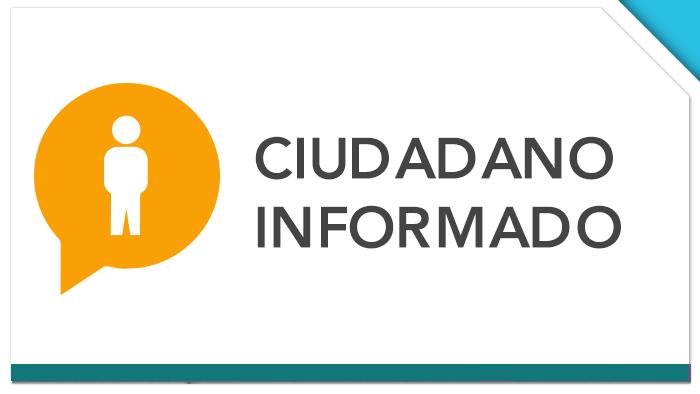 Imagen promocional de Ciudadano Informado