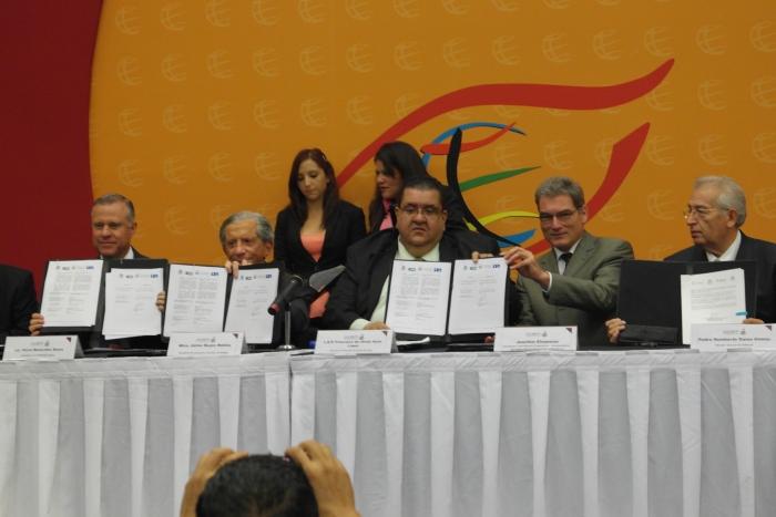 Imagen alusiva a la nota Signan convenios SE, SICYT - Coparmex Jalisco