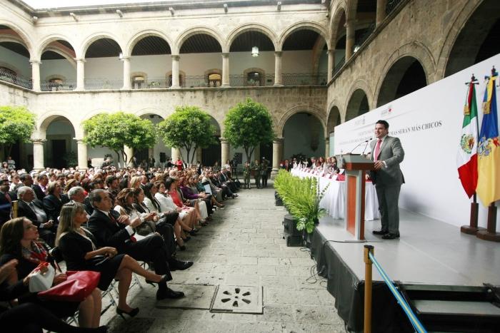 Arranca Gobernador Colecta Nacional Cruz Roja 2013 en Jalisco