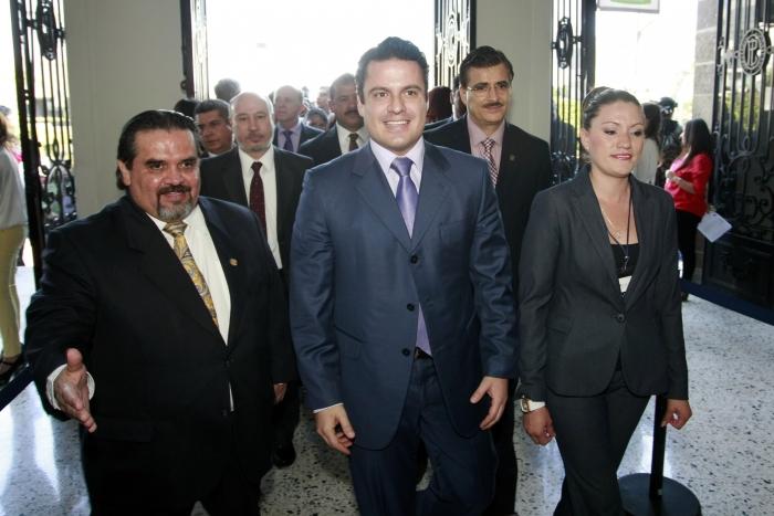 Quinto Informe de Actividades del Rector General de la UdeG Marco Antonio Cortés