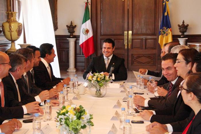 JASD Reunion Instalación del Consejo de Desarrollo Metropolitano de Guadalajara, Palacio de Gobierno