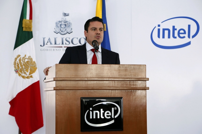 Fortalece Aristóteles Sandoval alianza con Intel México