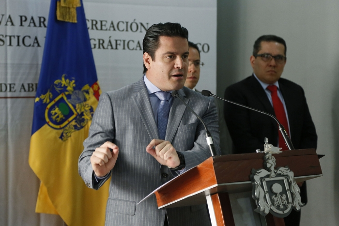 Propone Gobernador del Estado Instituto de Información Estadística y Geográfica