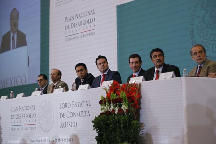 Inauguración Foro Estatal de Consulta Jalisco del PND