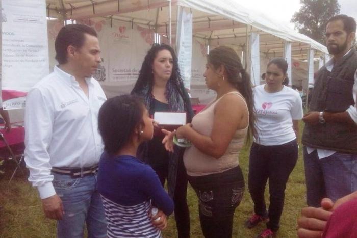 Imagen alusiva a la nota  Mujeres Avanzando Rumbo al Bienestar atiende a 264 mujeres en la colonia Lomas del Centinela