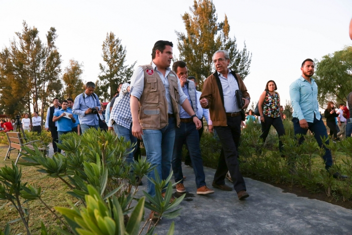Imagen alusiva a la nota Es Parque Metropolitano sustentable y de todos los jaliscienses: Aristóteles