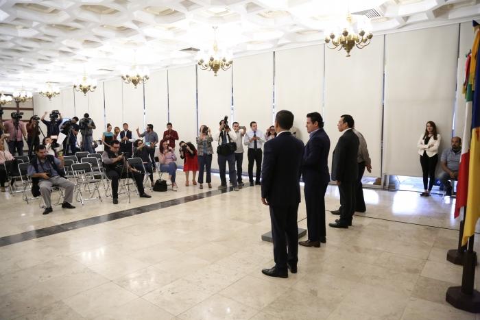 Imagen alusiva a la nota Tomás Figueroa, nuevo titular de la Secretaría del Trabajo