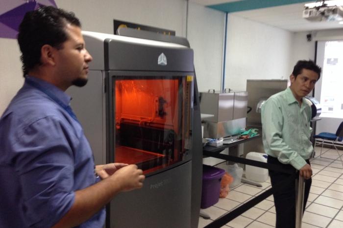Imagen alusiva a la nota Jalisco  a la vanguardia en tecnología con impresora 3D