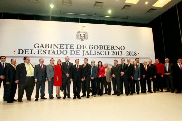 Presentación de gabinete