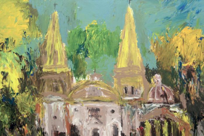 El artista Yuri Zatarain expone en Museo Palacio de Gobierno