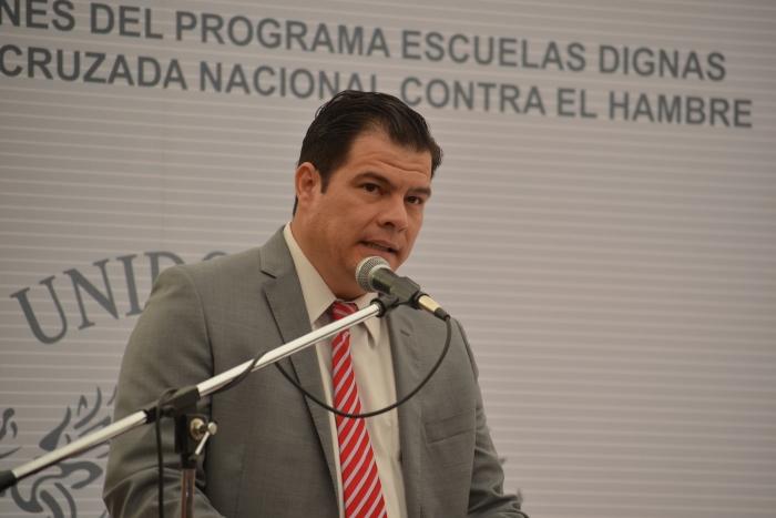 Imagen alusiva a la nota Entrega la SE acciones del Programa Escuela Digna en el marco de la Cruzada Nacional contra el Hambre