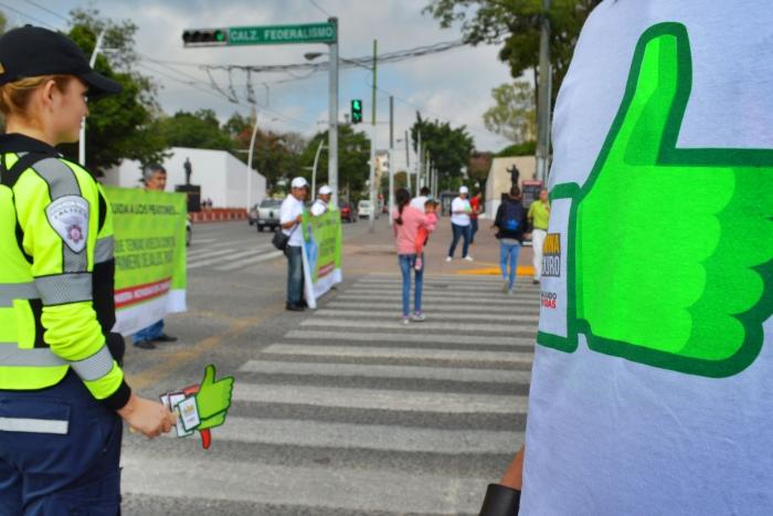 Imagen alusiva a la nota Lanza SEMOV campaña para celebrar el Día del Peatón
