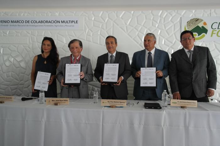 Imagen alusiva a la nota Firman convenio para mejoramiento genético y plantación en bosques de Jalisco