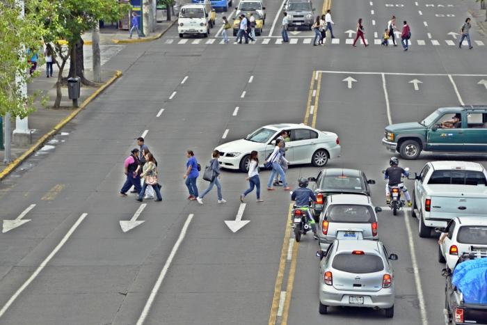 Imagen alusiva a la nota Son peatones la mitad de los lesionados o muertos por accidentes viales