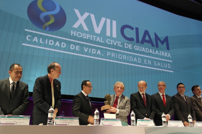 Imagen alusiva a la nota Recibe SICYT reconocimiento del Hospital Civil de Guadalajara