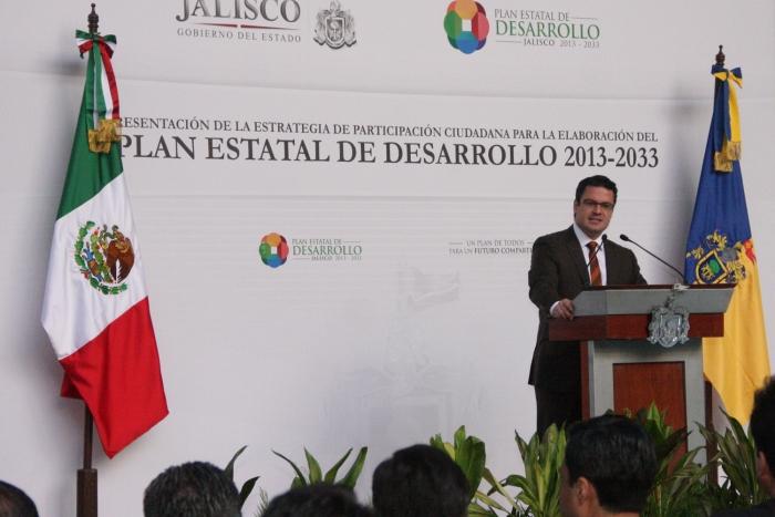 Imagen alusiva a la nota Presenta Aristóteles Sandoval Estrategia de Participación Ciudadana  para la Elaboración del Plan Estatal de Desarrollo
