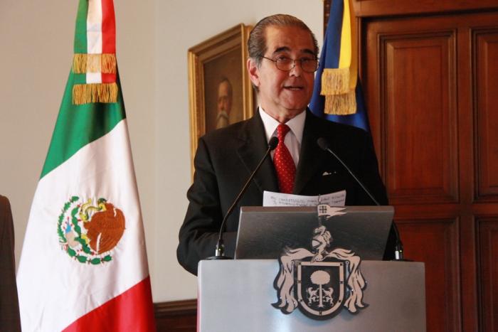 Imagen alusiva a la nota Toma protesta Aristóteles Sandoval a Enrique Ramos Flores como Secretario de Turismo