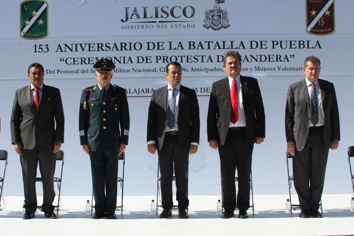 Imagen alusiva a la nota Conmemoran el 153 aniversario de la Batalla de Puebla