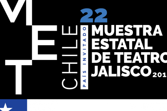 Logotipo de la Muestra Estatal de Teatro Jalisco 2018