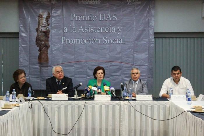 """Imagen alusiva a la nota Presenta el IJAS convocatoria """"Premio a la Asistencia y Promoción social"""""""