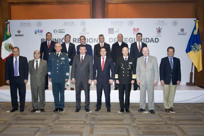 Jalisco fue sede de la II Reunión Regional de Seguridad  Nacional Zona Occidente