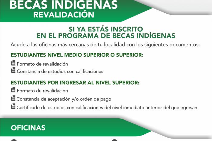 Imagen alusiva a la nota Invita la SEDIS a revalidar Becas Indígenas